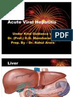 Acute Viral Hepatitis 27.06