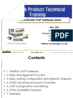 AddPac VoIP Gateway Training Guide