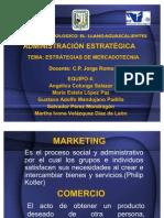 Presentación ESTRATEGIAS DE MERCADOTECNIA