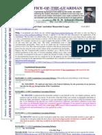 110613 Philip Brenwell Re Constitution Carbon Tax Cigarettes Etc