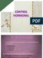control hormonal hasta el parto
