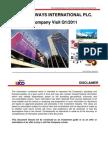 Company Visit Q1 11 Thai