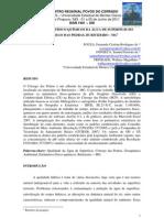 SOUZA, F.C.R. - Parâmetros físico-químicos da água