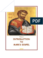 01. Introduction to Mark's Gospel