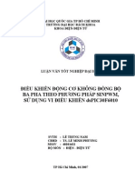 Dieu Khien DongCo KDB 3pha = SinPWM Dung PIC30F6010