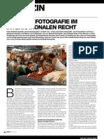 Das Recht der Straßenfotografie International
