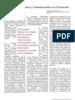 Tecnologia Educativa y Comunicacion en El Curriculo