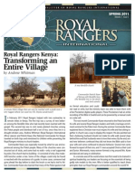 Royal Rangers International Spring 2011 Newsletter