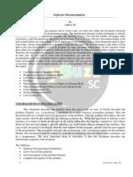 Software Documentation