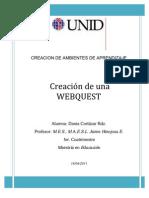 Proyecto Final WebQuest