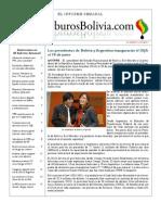 Hidrocarburos Bolivia Informe Semanal Del 06 Al 12 Junio 2011