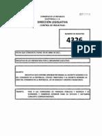 Iniciativa de Ley Tema rio