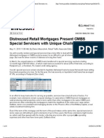 Distressed Retail Mortgages Present CMBS Special Servicers With Unique Challenges