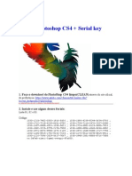 Adobe Photoshop CS4 + Serial Key