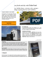 DVS SolarVenti Price Brochure