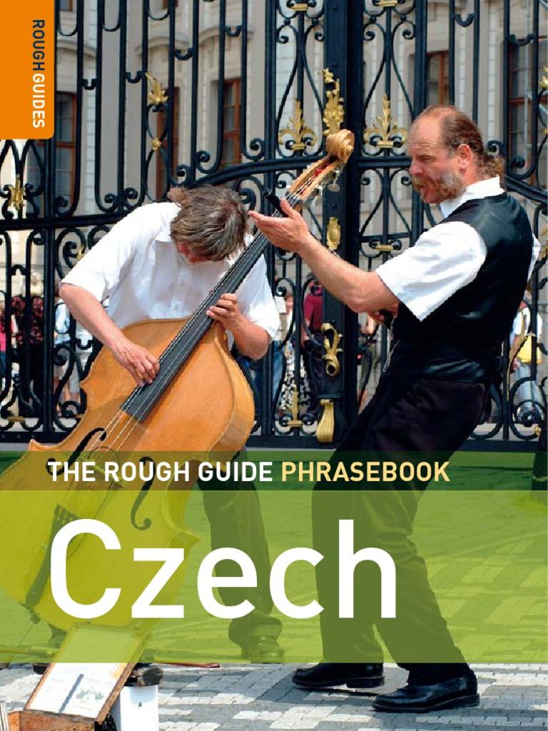 bb4a834fcc1 The Rough Guide Phrase Book Czech