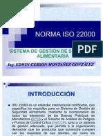 Presentación ISO 22000 Parte A