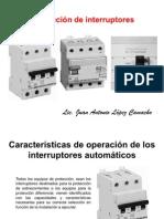 Selección de interruptores