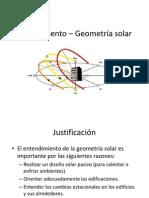 Asoleamiento – Geometría solar