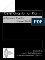 Defending Human Rights - A Resource Book