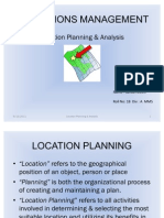Location Planning Ppt