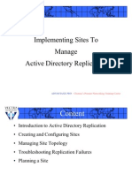 MCSE-08-Implementing of an Active Directory Service-09-Theory