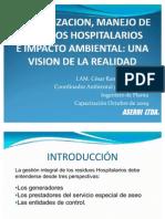 Manejo de Residuos Hospitalarios e Impacto Ambiental Ing. Cesar Ramirez