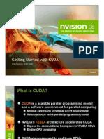 Getting Started w CUDA Training NVISION08