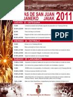San Juan 2011-ko Donibaneko Jaiak