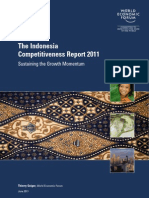 WEF GCR Indonesia Report 2011