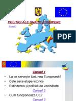 Curs 3 - Politici UE