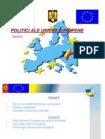 Curs 6 - Politici UE