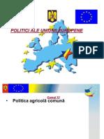 Curs 12 - Politica Agrara Comuna
