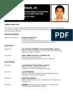 Resume Jun 12 2011