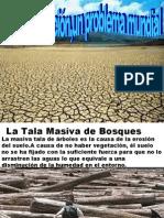 La desertización