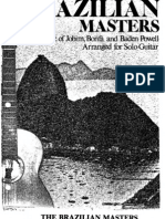 The Brazilian Masters Arranged for Solo Guitar