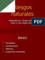 RIESGOS NATURALES