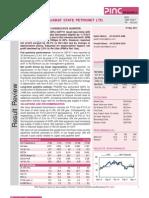 GSPL Stock Analysis May 2011 2