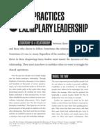 the leadership challenge summary pdf