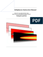 COMSOL Multi Physics Instruction Manual