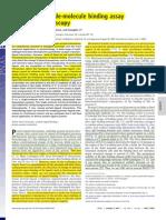 Artigo 6-A Functional Single-molecule Binding Assay via Force Spectroscopy