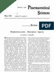 Bio Pharmaceutics- Absorption Aspects