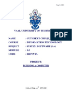 Stet By Step Guide to Building Own Computer By Cuthbert Chinji Jnr ~ Vaal University of Technology