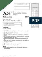AQA-MFP1-W-QP-JUN10