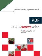 eBooks Supplier List Web 05 2011