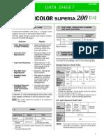 Superia 200 Datasheet