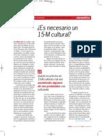 ¿Es necesario un 15M cultural