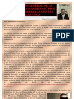 LA FISCALÍA GENERAL DE LA NACIÓN ME VA A ASESINAR