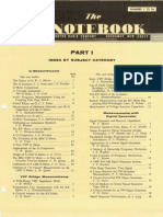 Boonton Radio Corporation the Notebook All 36 Issues 1954 65 With Index