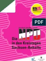 Die NPD in den Kreistagen Sachsen-Anhalts